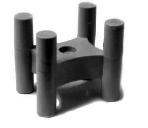 Фиксатор защитного слоя арматуры «Стойка усиленная» 25,30 мм.