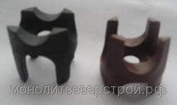 Фиксатор защитного слоя арматуры «Стойка» 10х15х20х25 («Перевёртыш»)