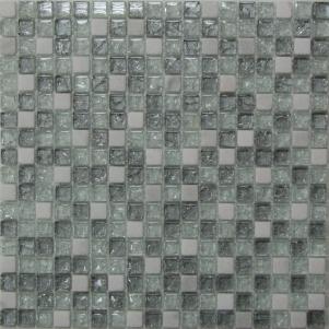Мозаика стеклянная с камнем Bonaparte Glass Stone 11