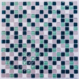 Мозаика стеклянная с камнем Bonaparte Olivia