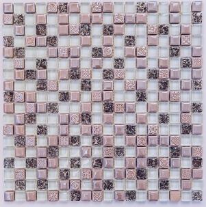 Мозаика стеклянная с камнем Bonaparte Plaza