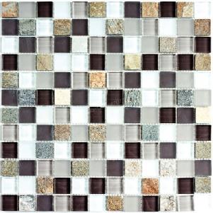 Мозаика стеклянная с камнем Bonaparte Style time-23