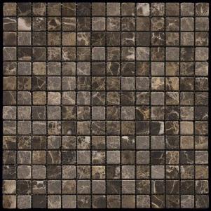 Мозаика из натурального камня серия ADRIATICA M022-20T (Emperador Dark)