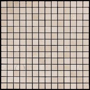 Мозаика из натурального камня серия ADRIATICA M025-20P (Crema Marfil)