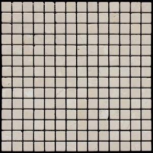 Мозаика из натурального камня серия ADRIATICA M025-20T (Crema Marfil)