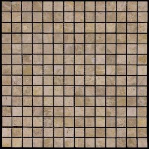 Мозаика из натурального камня серия ADRIATICA M036-20P (Emperador Light)