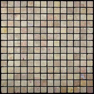 Мозаика из натурального камня серия ADRIATICA M036-20T (Emperador Light)