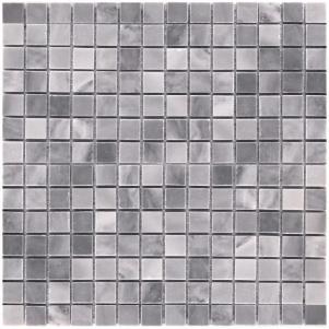 Мозаика из натурального камня серия ADRIATICA M033-20P (Bardiglio Nuvolato)