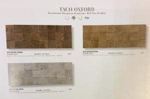 Керамическая плитка PORCELANOSA Taco Oxford Natural / Taco Oxford Cognac/Taco Oxford Acero - 31.6х90х1.25 см