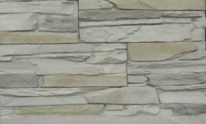 Декоративный камень СКАЛА, белый 02