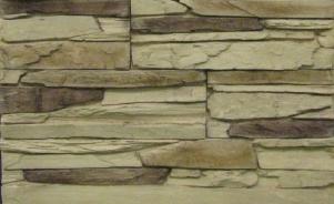 Декоративный камень СКАЛА, темно-бежевый