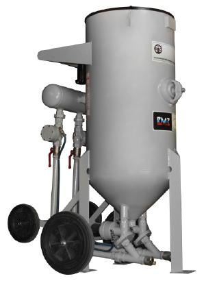 Пескоструйный аппарат DSG-300 двухпостовой с двумя дистанционными управлениями