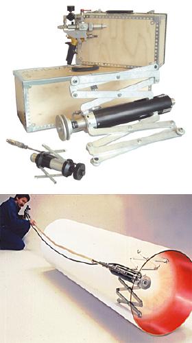 Аппарат для окраски труб изнутри Clemco ORBITER