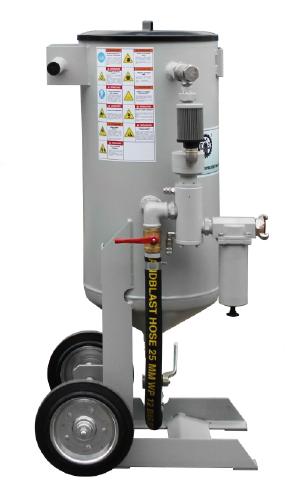 Пескоструйный аппарат DSG - 50 с дистанционным управлением
