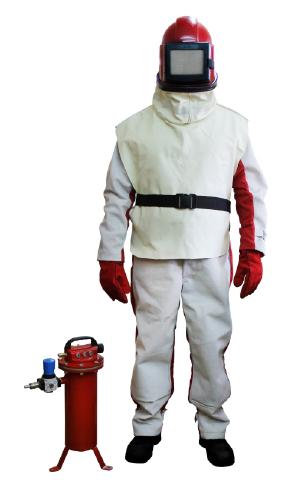 Профессиональный комплект защиты пескоструйщика