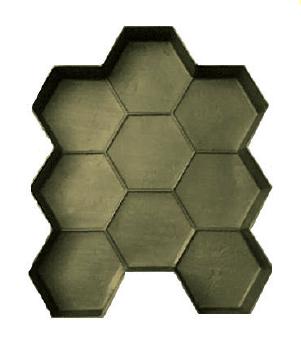 """Форма для изготовления тротуарной плитки """"Соты"""""""