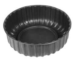 Ваза садовая пластиковая большая круглая. Объем: 210л. Цвет: Черный