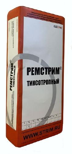 Сухая ремонтная смесь с повышенной адгезией и тиксотропией ПК Стрим Ремстрим ТА Мешок 25 кг