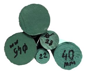 Набухающий герметизирующий гидрофильный полиуретановый профиль круглого сечения Плуг 22 мм