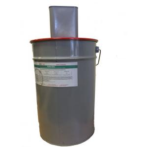 Силокор Гард эмаль (красная). Комплект 30 кг. (основа 25 кг + отвердитель 5 кг)