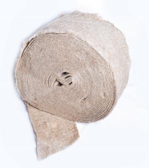 Межвенцовый джутовый утеплитель 150мм.4-6 мм. (20м.п.)